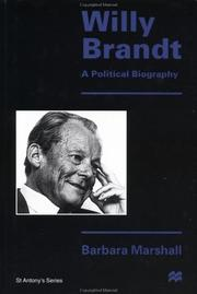 Willy Brandt by Barbara Marshall