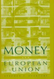 Cover of: Money and European union