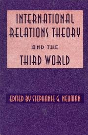 Cover of: International relations theory and the Third World