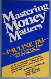 Mastering money matters