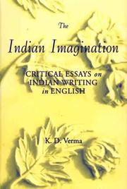 Cover of: The Indian imagination