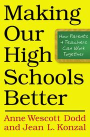Cover of: Making our high schools better