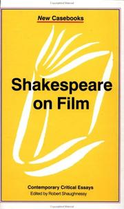 Cover of: Shakespeare on film |