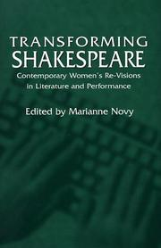 Cover of: Transforming Shakespeare |