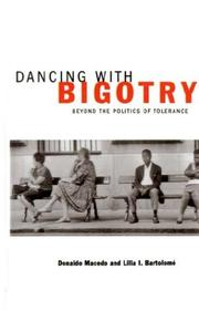 Cover of: Dancing with bigotry