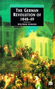 Cover of: The German revolution of 1848-49