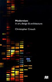 Cover of: Modernism in art, design and architecture