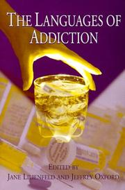 Cover of: The languages of addiction