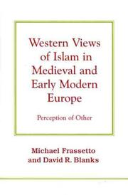 Cover of: Western Views of Islam in Medieval and Early Modern Europe |