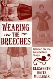 Cover of: Wearing the breeches