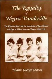 Cover of: The royalty of Negro vaudeville