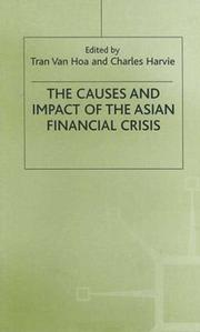 Cover of: The Causes and Impact of the Asian Financial Crisis |