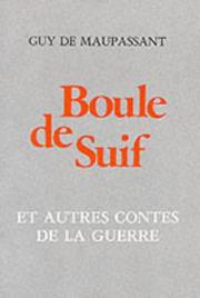 Cover of: Boule De Suif (French Literary Texts)