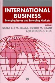 Cover of: International business by