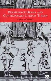 Cover of: Renaissance drama and contemporary literary theory