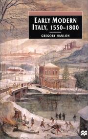 Cover of: Early modern Italy, 1550-1800