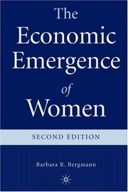 Cover of: The economic emergence of women