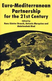 Cover of: Euro-Mediterranean partnership for the 21st century