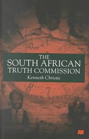 Cover of: The South African Truth Commission