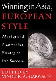 Cover of: Winning in Asia, European Style