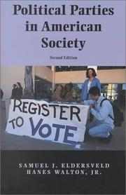 Cover of: Political parties in American society