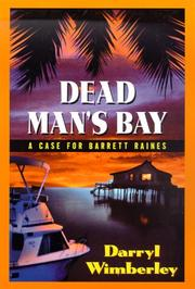 Cover of: Dead Man's Bay | Darryl Wimberley
