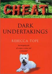 Cover of: Dark undertakings | Rebecca Tope