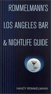 Cover of: Rommelmann's Los Angeles Bar & Nightlife Guide