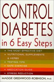 Cover of: Control Diabetes in Six Easy Steps (Lynn Sonberg Books)