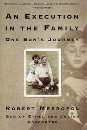 Cover of: An Execution in the Family | Robert Meeropol