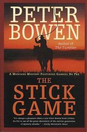 Cover of: The Stick Game (Montana Mysteries Featuring Gabriel Du Pre)