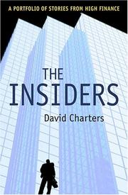Cover of: The insiders | David Charters