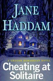 Cover of: Cheating at Solitaire: A Gregor Demarkian Novel (Gregor Demarkian Novels)