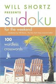 Cover of: Will Shortz Presents Sudoku for the Weekend | Will Shortz