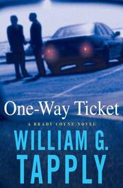 Cover of: One-Way Ticket | William G. Tapply