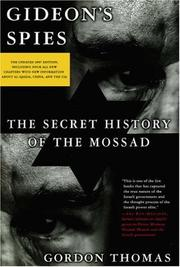 Cover of: Gideon's Spies, Third Edition: The Secret History of the Mossad
