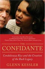 Cover of: The Confidante | Glenn Kessler