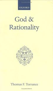 Cover of: God and rationality
