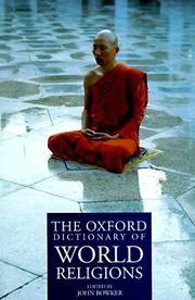 Cover of: The Oxford dictionary of world religions |