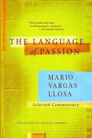 Cover of: The Language of Passion: Selected Commentary