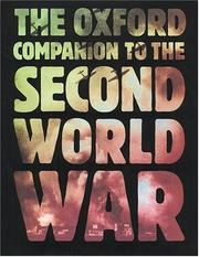 Cover of: The Oxford Companion to The Second World War | M. R. D. Foot