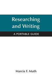 Cover of: Researching and Writing  | Marcia F. Muth