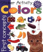 Cover of: Sticker Activity Colors (First Concepts)