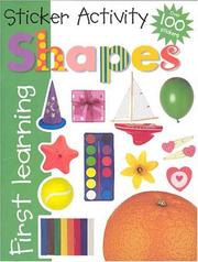 Cover of: Sticker Activity Shapes (First Learning)