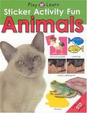Cover of: Sticker Activity Fun - Animals (Y)