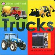 Cover of: Slide and Find Trucks (Slide and Find)