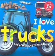 Cover of: I Love Trucks Sticker Book