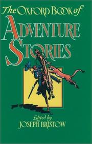 Cover of: The Oxford book of adventure stories