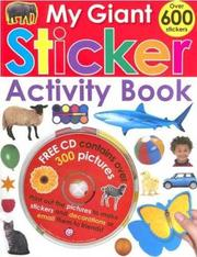 Cover of: My Giant Sticker Activity Book