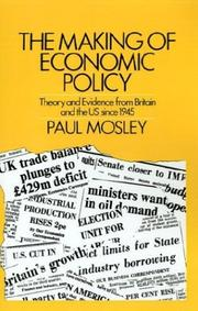 Cover of: The making of economic policy